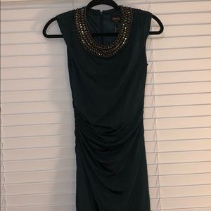 Laundry Emerald Green Dress
